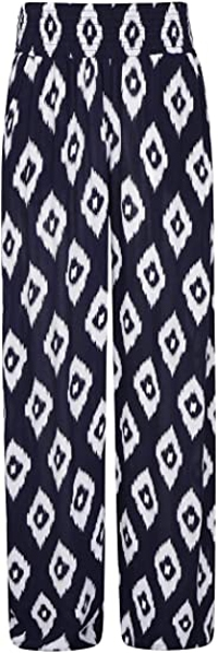 Mountain Warehouse printed beach pants   40plusstyle.com