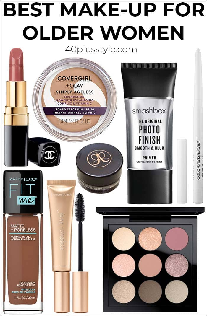 Best make up for older women: The definitive guide to what should be in your make up bag | 40plusstyle.com