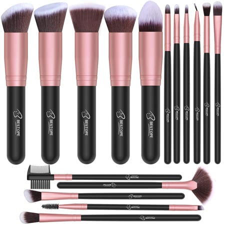 BESTOPE Makeup Brushes | 40plusstyle.com