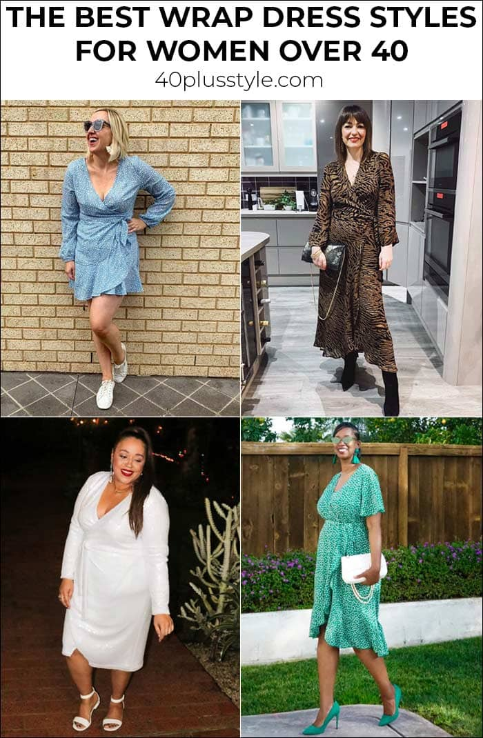 The best wrap dress styles for women over 40   40plusstyle.com