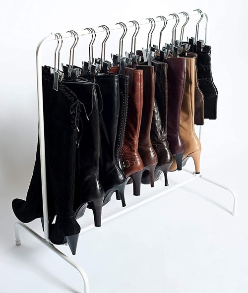 Boottiquie Boot Rack-Short Garment & Boot Rack | 40plusstyle.com