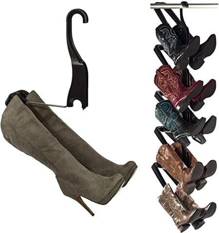 Boot Butler Hanging Boot Storage Rack | 40plusstyle.com