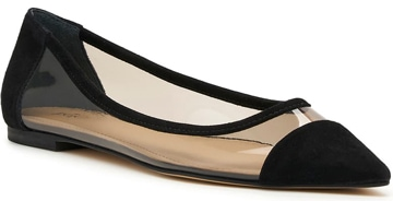 Botkier pointed toe flat | 40plusstyle.com