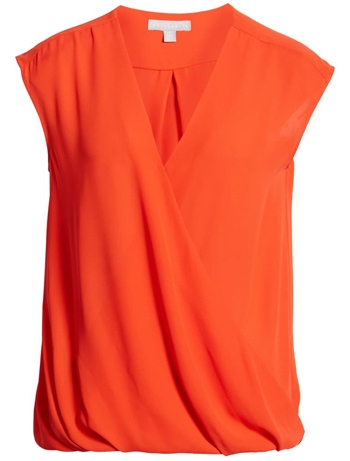Summer essentials - Chelsea28 drape waist top| 40plusstyle.com