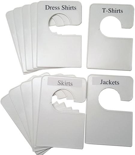 Closet Doodles clothing dividers | 40plusstyle.com