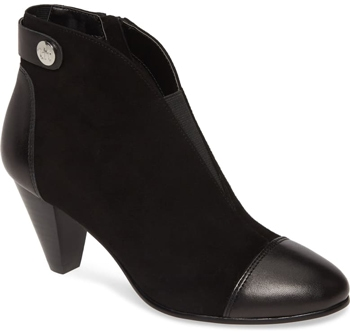 Shoes for wide feet - David Tate 'Ultra' bootie | 40plusstyle.com