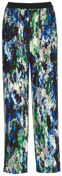Fuzzi pleated wide leg pants   40plusstyle.com