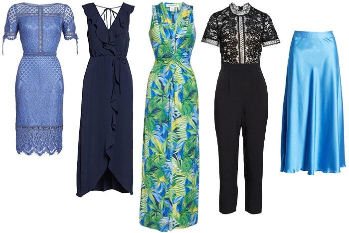 Glamorous dresses and glamorous jumpsuit ideas | 40plusstyle.com
