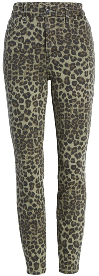 leopard print pants | 40plusstyle.com