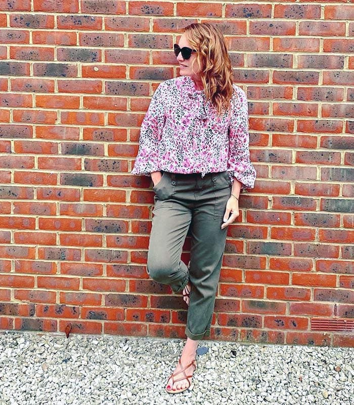 How to wear flat shoes and not look frumpy