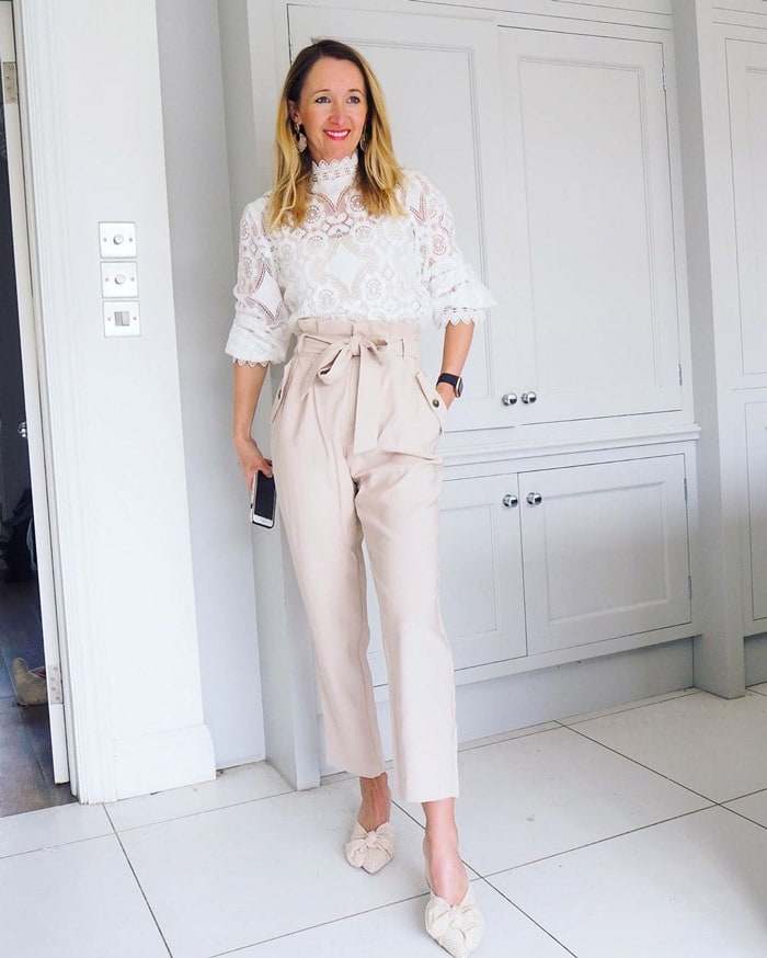 combining glamorous with romantic style   40plusstyle.com