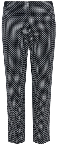 How to wear printed pants - Marks & Spencer geometric cropped trousers | 40plusstyle.com