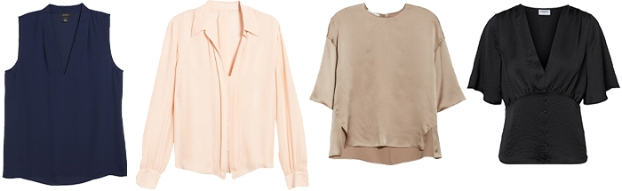 plain tops to wear with your patterned pants   40plusstyle.com
