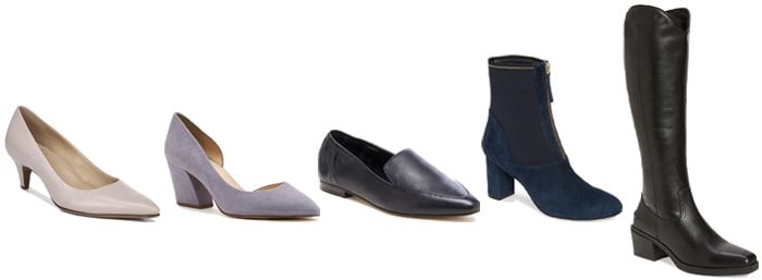 professional shoes for a shoe capsule | 40plusstyle.com