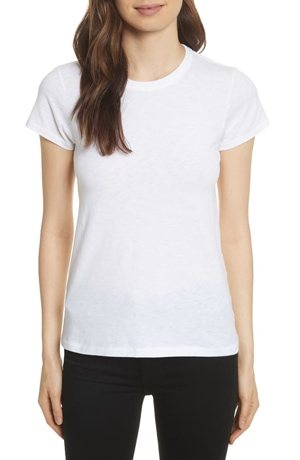 Best white t-shirts - rag & bone 'The Tee' | 40plusstyle.com