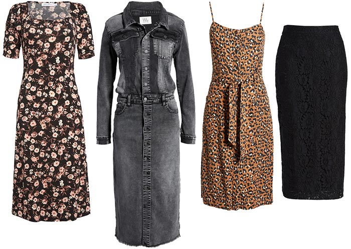 dresses and skirts for the rock style personality   40plusstyle.com