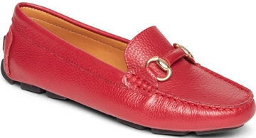 How to wear flat shoes - Rockport loafer flat   40plusstyle.com