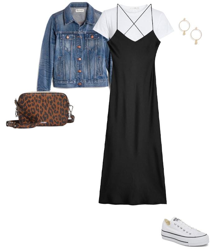 Shirt under a slip dress or jumpsuit   40plusstyle.com