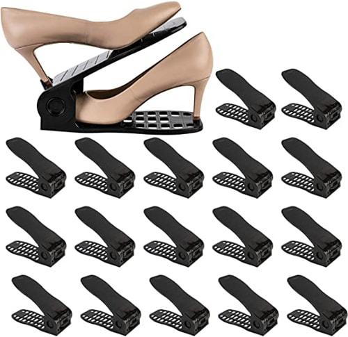Homeries Shoe Slots Organizer | 40plusstyle.com