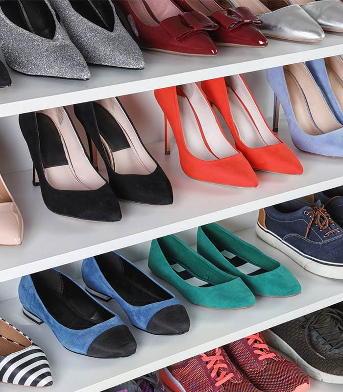How to store shoes – lots of ideas to get organised!