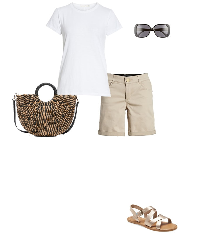 Shirt with shorts and sandals for | 40plusstyle.comsummer