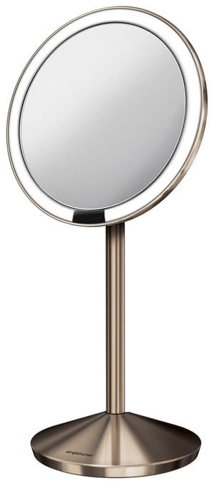 Simplehuman Mini Countertop Sensor Makeup Mirror | 40plusstyle.com