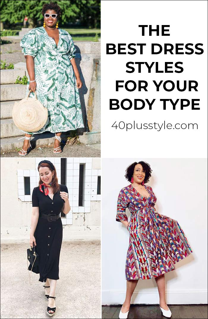 The best dress styles for your body shape   40plusstyle.com