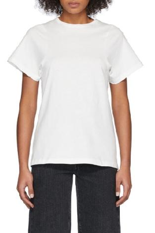 Totême Espera organic cotton t-shirt   40plusstyle.com