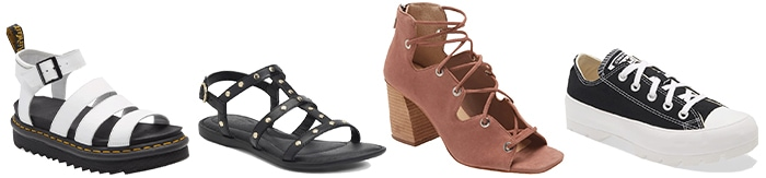 shoes to wear with your outfit | 40plusstyle.com