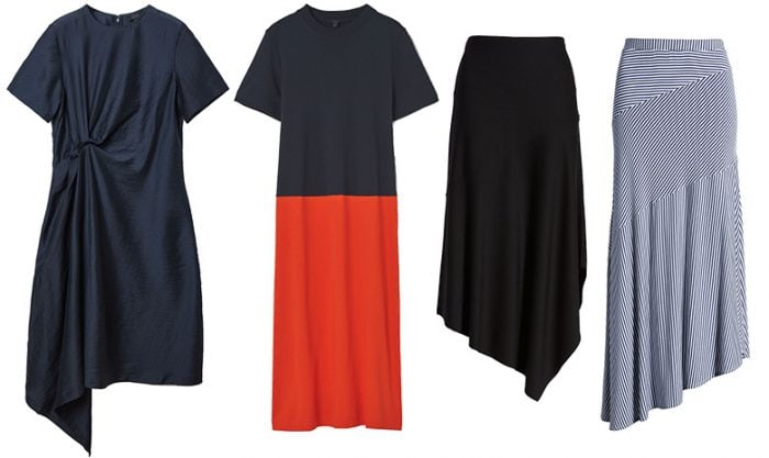 Architectural style personality dresses and skirts | 40plusstyle.com