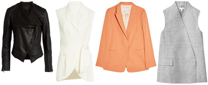 Architectural style personality jackets and coats   40plusstyle.com