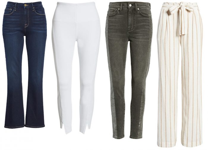 Architectural style personality pants | 40plusstyle.com