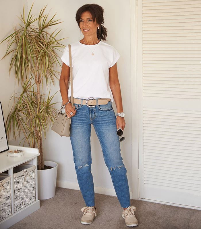 The best white t-shirts for women over 40
