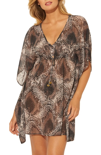 BLEU by Rod Beattie caftan | 40plusstyle.com