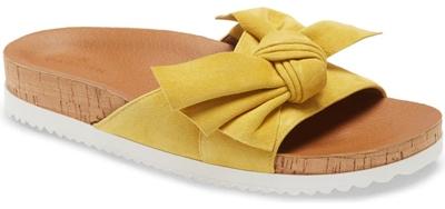 Caslon 'Kailee' slide sandal   40plusstyle.com