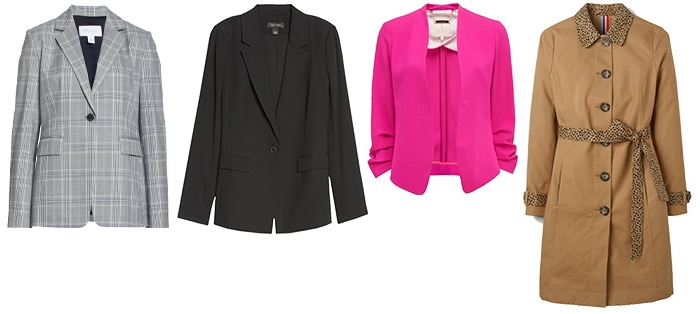 blazers and coats for a business conference | 40plusstyle.com