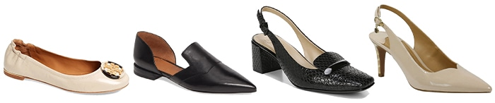 heels and flats to wear to a conference | 40plusstyle.com
