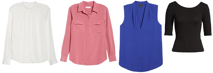 shirts and blouses to wear to a conference | 40plusstyle.com