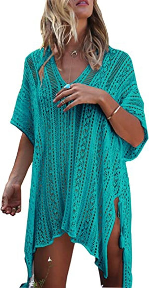 Wander Agio crochet beach cover-up | 40plusstyle.com