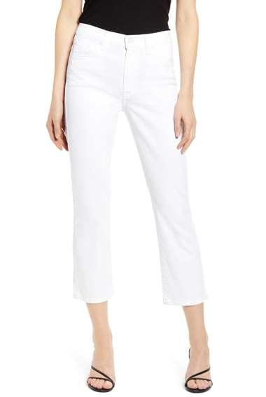 7 For All Mankind crop slim jeans | 40plusstyle.com