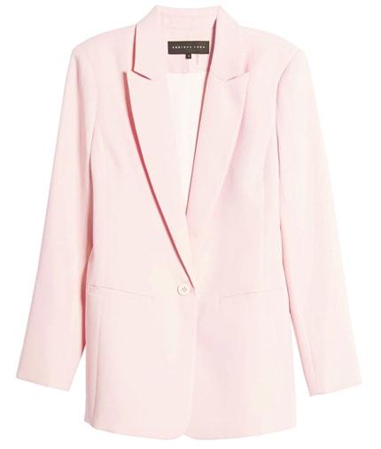 Endless Rose tailored blazer   40plusstyle.com