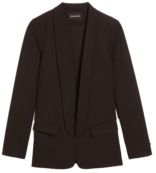Frank and Oak packable blazer | 40plusstyle.com
