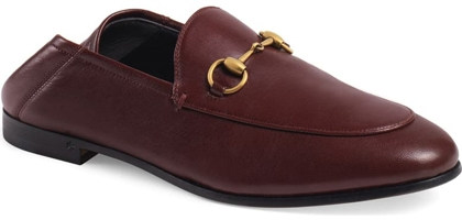 Gucci 'Brixton' Horsebit Convertible Loafer   40plusstyle.com