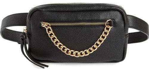 Mali + Lili vegan leather belt bag | 40plusstyle.com
