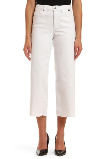 Mavi Jeans crop wide leg jeans | 40plusstyle.com