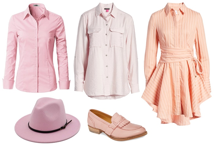 Stylish ways to wear pink | 40plusstyle.com