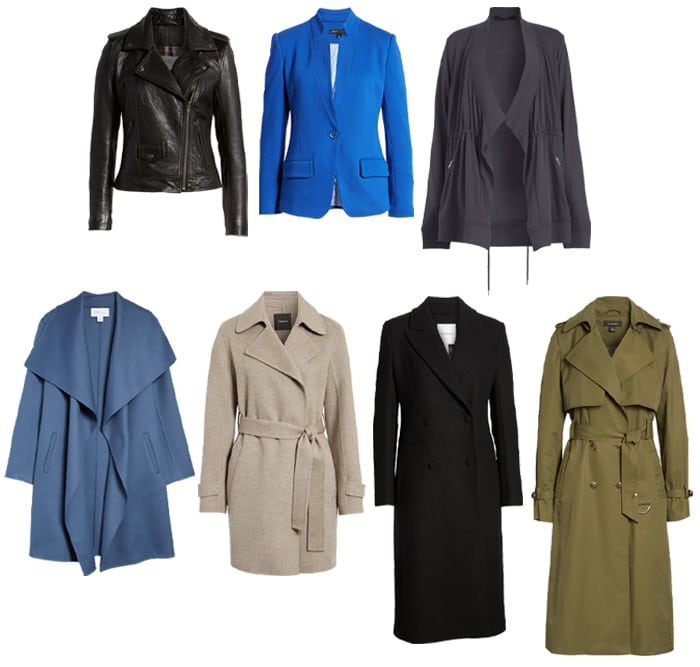 jackets and coats in the Nordstrom anniversary sale | 40plusstyle.com