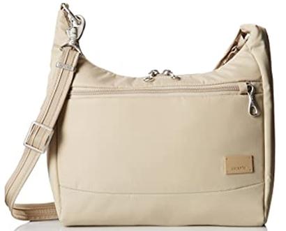 Best travel purses - Pacsafe Citysafe Cs100 | 40plusstyle.com