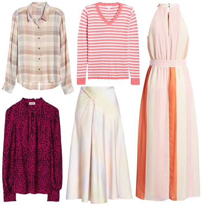 How to wear pink contrast and prints   40plusstyle.com