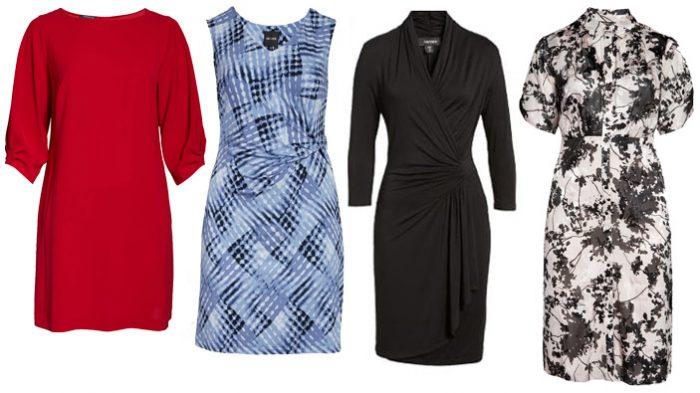 plus size dresses for petites | 40plusstyle.com